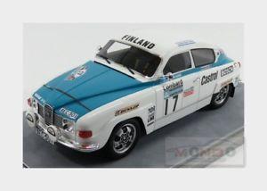 【送料無料】模型車 モデルカー スポーツカー#ラリーモデルsaab 96 v4 17 rally rac 1974 trainio klehto tecnomodel 118 tm1880b model