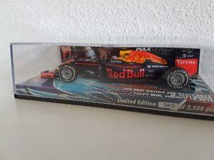 【送料無料】模型車 モデルカー スポーツカーレッドブルスペインズm verstappen red bull rb12 winner spain ed5 143 ltd 4192500