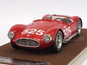 【送料無料】模型車 モデルカー スポーツカーマセラティマセラティ#ミッレミリアmaserati a6 gcs 525 mille miglia 1953 giletti 118 tecnomodel tm1844e