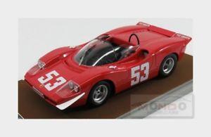 【送料無料】模型車 モデルカー スポーツカーアバルト#ニュルブルクリンクabarth 2000s 53 winner nurburgring 1969 thezemans tecnomodel 118 tm1858a mod