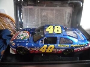 【送料無料】模型車 モデルカー スポーツカーゲージ#ジミージョンソンホリデークリスマスカーxrare 124 guage rcca 2009 48 jimmie johnson found sam bass holiday xmas car