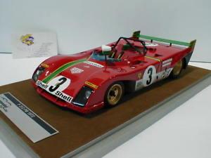 【送料無料】模型車 モデルカー スポーツカーフェラーリタルガフローリオムナーリtecnomodel tm1862d ferrari 312 pb no3 winner targa florio 1972 munari 118