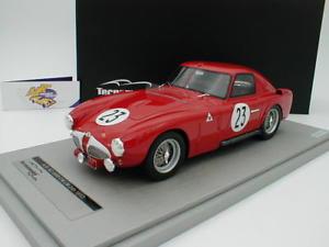 【送料無料】模型車 モデルカー スポーツカーアルファロメオルマンtecnomodel tm1848d alfa romeo 6c 3000 cm 23 24h le mans 1953 k kling 11