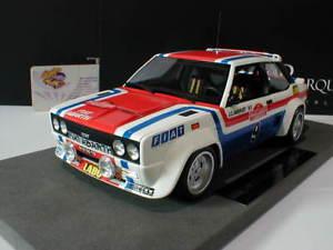 【送料無料】模型車 モデルカー スポーツカートップマルケスフィアットアバルトラリーサンレモtop marques fiat 131 abarth rallye san remo 1977 winner 9 andruet 118