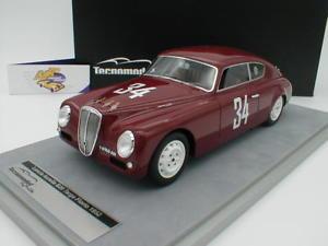 【送料無料】模型車 モデルカー スポーツカーランチアアウレリアコルサタルガフローリオtecnomodel tm1869e lancia aurelia b20 corsa 34 targa florio 1952 118
