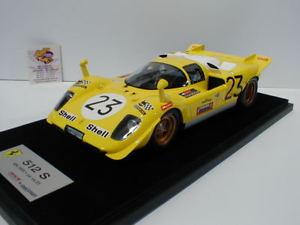 【送料無料】模型車 モデルカー スポーツカースマートフェラーリキロスパデレクベルlook smart ls1808e ferrari 512 s 23 1000 km spa 1970 derek bell 118