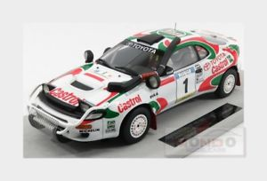 【送料無料】模型車 モデルカー スポーツカートヨタセリカ#ラリートップtoyota celica 4wd castrol 1 winner rally safari 1993 topmarques 118 top034h mo