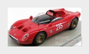 【送料無料】模型車 モデルカー スポーツカーアルファロメオ#ベルギーalfa romeo 332 fleron periscopio 215 win belgium 1967 tecnomodel 118 tm1849