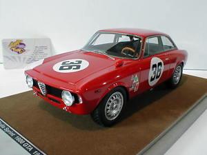 【送料無料】模型車 モデルカー スポーツカーアルファロメオジュリアスプリントセブリングtecnomodel tm1860b alfa romeo giulia 1600 sprint gta no36 4h sebring 1966 11