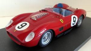 【送料無料】模型車 モデルカー スポーツカーモデルスケールフェラーリ#スクーデリアcmf models 118 scale resin 206693 ferrari 250 tr rhd 9 scuderia