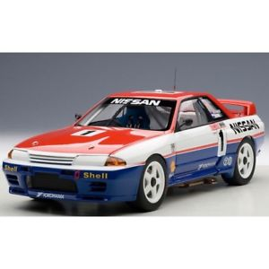【送料無料】模型車 モデルカー スポーツカースカイラインリチャーズnissan skyline gtr n1 winner bathurst 1991 j richardsm skaife 118 automode