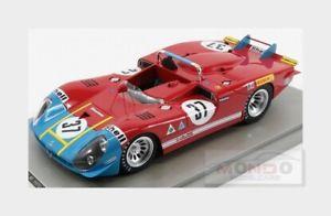 【送料無料】模型車 モデルカー スポーツカーアルファロメオデルタスパ#ルマンalfa romeo 333 30l v8 auto delta spa 37 le mans 1970 tecnomodel 118 tm1827c