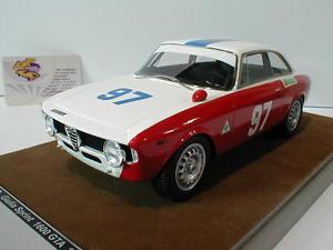 【送料無料】模型車 モデルカー スポーツカーアルファロメオジュリアスプリントフロリオtecnomodel tm1860d alfa romeo giulia 1600 sprint gta 97 t florio 1971 1