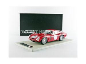 【送料無料】模型車 モデルカー スポーツカーミトスグアテマラルマンtecnomodel mythos 118 bizzarrini 5300 gtle mans 1966tm1833a