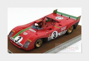 【送料無料】模型車 モデルカー スポーツカーフェラーリタルガフローリオムナーリferrari 312pb win targa florio 1972 merzario munari tecnomodel 118 tm1862d mo