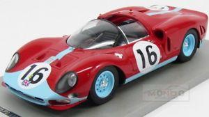 【送料無料】模型車 モデルカー スポーツカーフェラーリ#ルマンパイパーferrari 365p2 16 24h le mans 1966 r attwood d piper tecnomodel 118 tm1820c