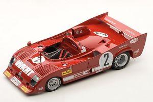 【送料無料】模型車 モデルカー スポーツカーアルファロメオ#キロモンツァ87504 autoart 118 alfa romeo 33tt 12 2 winner 1000km monza 1975