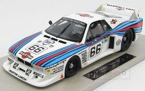 【送料無料】模型車 モデルカー スポーツカーランチアベータモンテカルロターボマルティニレーシングルマントップlancia beta montecarlo turbo martini racing le mans 1981 topmarques 118 top021b