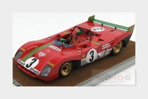 【送料無料】模型車 モデルカー スポーツカーフェラーリキロスパレッドマンferrari 312pb winner 1000km spa 1972 redman merzario tecnomodel 118 tm1862e mo