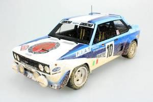 【送料無料】模型車 モデルカー スポーツカートップマルケストップフィアットアバルト#;モンテカルロラリーtop marques 118 top43cd fiat 131 abarth039;80 rally montecarlo winner dirty