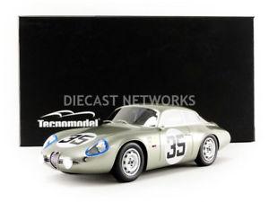 【送料無料】模型車 モデルカー スポーツカーミトスアルファロメオルマンtecnomodel mythos 118 alfa romeo giulietta sz coda troncale mans 1963