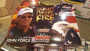 【送料無料】模型車 モデルカー スポーツカージョンナイトjohn force norwalk raceway night under fire 2007 funny car