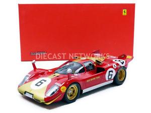 【送料無料】模型車 モデルカー スポーツカーフェラーリキロデモンツァlooksmart 118 ferrari 512 s 1000 km de monza 1970 ls1808f