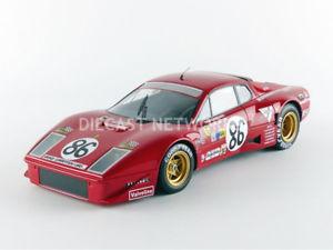 【送料無料】模型車 モデルカー スポーツカーミトスフェラーリグアテマラルマンtecnomodel mythos 118 ferrari 365 gt4 bb honey 24h du mans 1978tm1836d