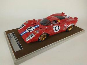 【送料無料】模型車 モデルカー スポーツカーフェラーリクーペ#パークスセブリングtecnomodel ferrari 312p coupe 22 parkesparson sebring 1970 118