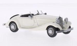 【送料無料】模型車 モデルカー スポーツカーネオスケールモデルネオメルセデスロードスターホワイトjm2141097neo scale models neo45010 mercedes typ 290 roadster w18 1936 white 1