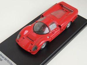 【送料無料】模型車 モデルカー スポーツカーフェラーリプレゼンテーションプレスdrogon ferrari p2p3 1967 presentation press tecnomodel