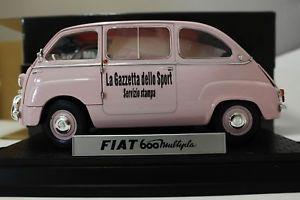 【送料無料】模型車 モデルカー スポーツカーフィアットモデルjm 2136797 miniminiera t74308 fiat 600 multipla 118 model