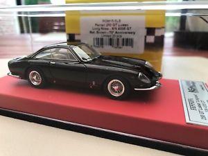 【送料無料】模型車 モデルカー スポーツカーフェラーリルッソメタリックブラウンレッドbbr ferrari 250 lusso longnose 70 annivarsary 143 rgm metallic brown red leathe