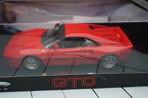 【送料無料】模型車 モデルカー スポーツカーホットホイールエリートフェラーリ118 hot wheels elite ferrari gto red