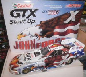 【送料無料】模型車 モデルカー スポーツカージョン#nhra john force 116 funny car 2004 freedom flight night under fire 1300 277