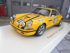 【送料無料】模型車 モデルカー スポーツカーポルシェクーペルマン#バルトクラススパークporsche 911 st 25 coupe le mans 1972 41 barth keyser gt class win spark 118