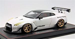 【送料無料】模型車 モデルカー スポーツカーロケットウサギホワイト