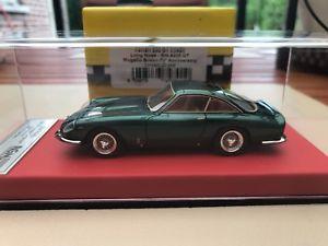 【送料無料】模型車 モデルカー スポーツカーフェラーリルッソムジェログリーンレッドレザーbbr ferrari 250 lusso longnose 70 annivarsary 143 rgm mugello green red leather