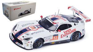 【送料無料】模型車 モデルカー スポーツカースパークライリーモータースポーツオート#ルマンspark 18s201 srt viper gtsr 039;riley motorsports ti auto039; le mans 2015 118