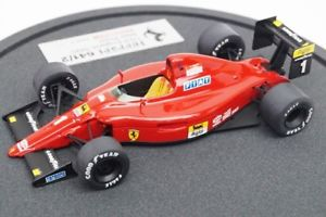 【送料無料】模型車 モデルカー スポーツカーモデラー#フェラーリイギリス#プロスト143 bbr modeler039;s ferrari 6412 england gp 1990 1 aprost