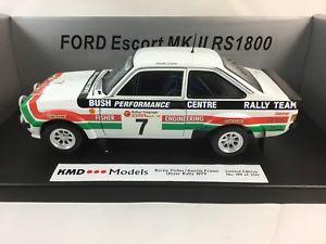 【送料無料】模型車 モデルカー スポーツカー118sunstar kmd ford escort mk2 rs1800 bertie fishercil 999ulster rally 1979118 sunstar kmd ford escort mk2 rs1800 bertie