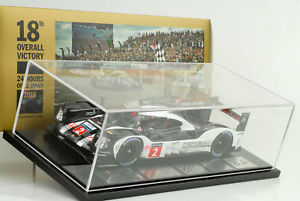 【送料無料】模型車 モデルカー スポーツカーポルシェ#ルマンショーケーススパークディーラー2016 porsche 919 2 winner 24h le mans showcase 118 spark wap dealer