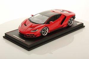 【送料無料】模型車 モデルカー スポーツカーコレクションランボルギーニロッソマーズショーケースmr collection lamborghini centenary rosso mars with showcase 118