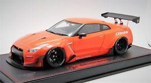 【送料無料】模型車 モデルカー スポーツカーロケットウサギオレンジ