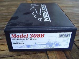 【送料無料】模型車 モデルカー スポーツカージェームズハントオランダウルフキットhesketh 308b, james hunt, holland winner 1975, wolf kits, 120