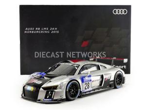 【送料無料】模型車 モデルカー スポーツカーコンストタモデルアウディニュルブルクリンクconstructor models 112 audi r8 lmswinner 24h de nurburgring 2015 50215