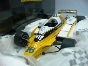 【送料無料】模型車 モデルカー スポーツカーワウルノーターボ#フランスwow extremely rare renault re20 turbo 16 arnoux france 1980 97091 118 exoto