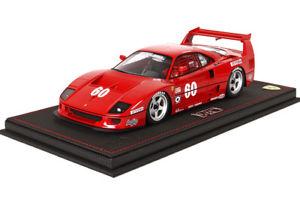 【送料無料】模型車 モデルカー スポーツカーフェラーリ#アレジbbr ferrari f40 lm 60 alesi imsa 1989 118