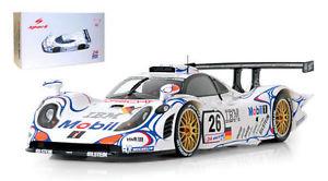 【送料無料】模型車 モデルカー スポーツカースパークポルシェグアテマラルマンマクニッシュspark 18lm98 porsche 911 gt1 le mans winner 1998 mcnishaielloortelli 118