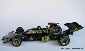 【送料無料】模型車 モデルカー スポーツカーロータスフィッティパルディトイレlotus 72d e fittipaldi wc 1972 118 exoto